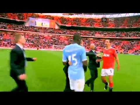 Manchester City 1:0 Manchester United (16.04.) BALOTELLI VS. FERDINAND FIGHT!!!