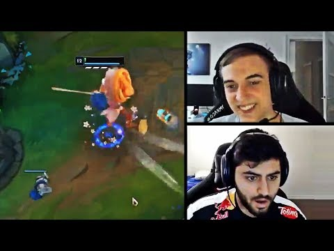 CAPS FIGURED OUT HOW TO BE IMMORTAL IN THE GAME | YASSUO'S 1V1 PLAY | TRICK2G | LOL MOMENTS