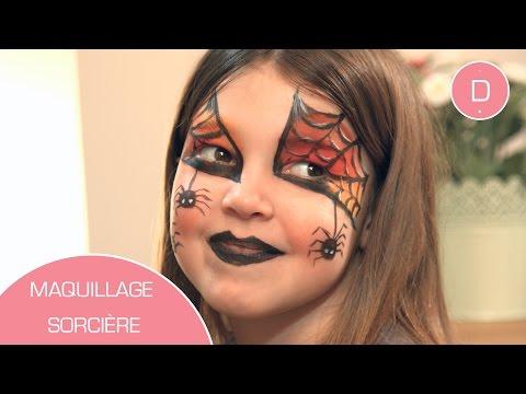 Maquillage de sorcière , Atelier Maquillage , YouTube