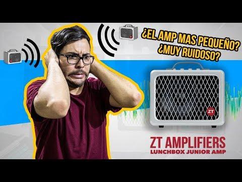 EL AMPLIFICADOR MAS PEQUEÑO Y POTENTE ► ZT Amplifiers: LUNCHBOX JUNIOR AMP