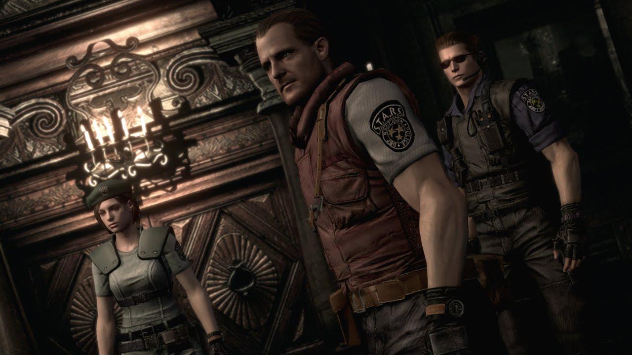 Resident Evil HD Remaster - Mod Barry Burton Campanha