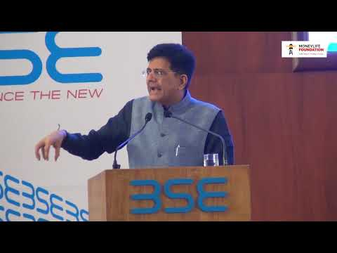 "Shri Piyush Goyal on ""Boosting the economy by transforming the Railways"""