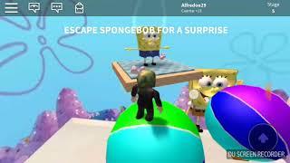 Obby by SpongeBob Roblox