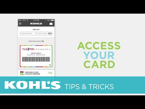 Mobile App Overview | Kohl's