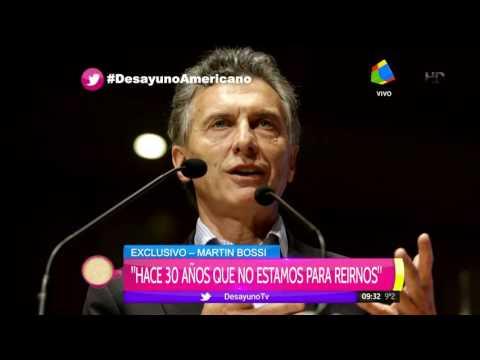 Martín Bossi fue al hueso: ¿Vos te imaginás a Perón haciendo Snapchat?