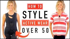 How To Look 10 Years Younger | Active Wear Style Tips For Mature Women!