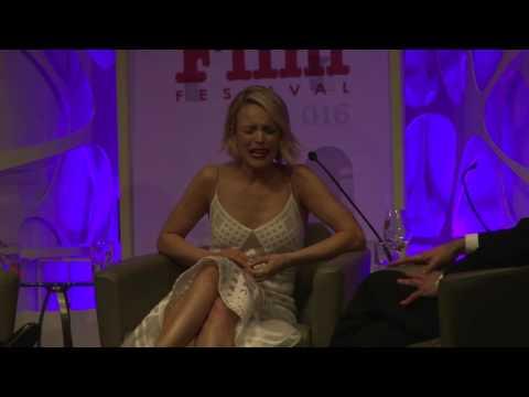 SBIFF 2016 - American Riviera - Rachel McAdams Talks Michael Keaton & Beetlejuice