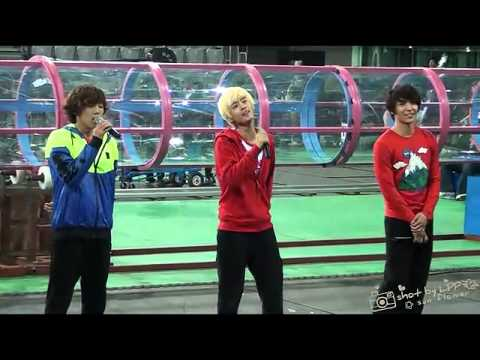 "111016 Lee Hongki ,JongHun & JaeJin ""Even Your Tears"" @ Dream Team.f4v"