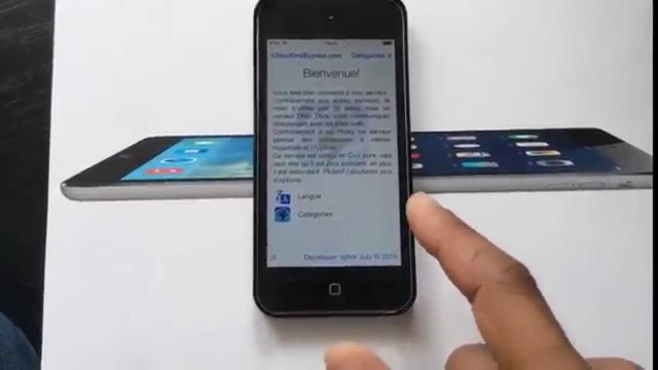 Debloquer Icloud Iphone S