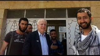 ISIS Post PR Photos with U.S. Hero John McCain, Denies Meeting