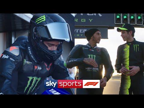 Lewis Hamilton and Valentino Rossi: F1 and Moto GP job swap 🔁