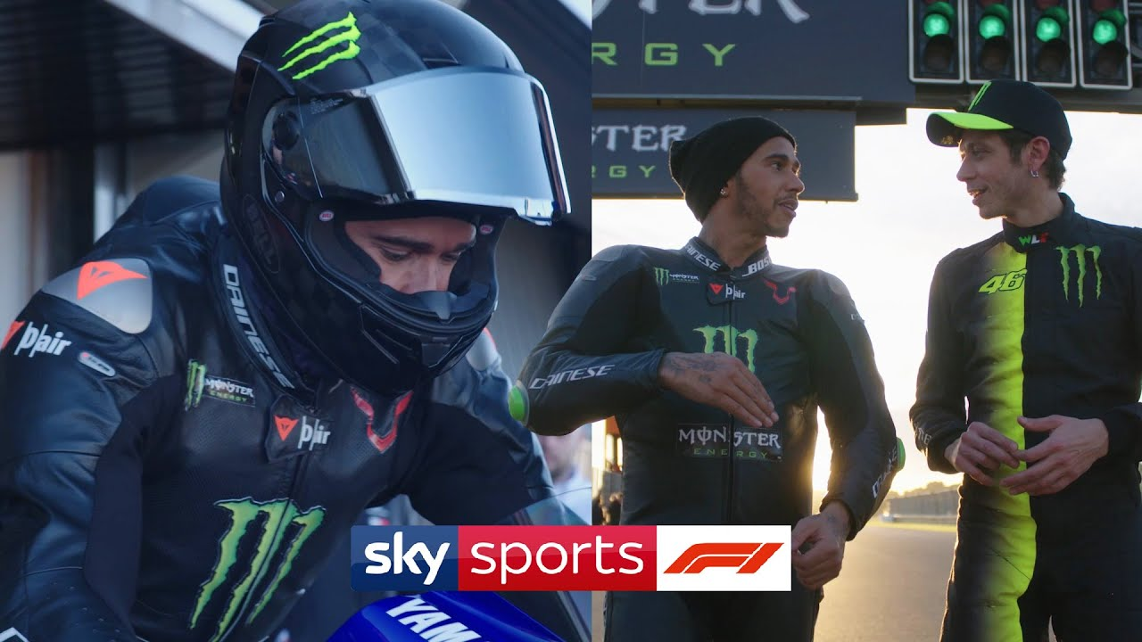Lewis Hamilton and Valentino Rossi: F1 and Moto GP job swap ????