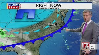 Wes Hohenstein's 5 pm weather forecast January 16