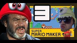 Super Mario Maker Ep3 - 3 Bun Pass Yeah (FUNNY)  | Alkemical