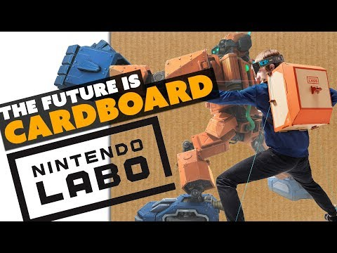 Nintendo Switches to... CARDBOARD! - The Know Game News thumbnail