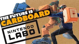 Nintendo Switches to... CARDBOARD! - The Know Game News
