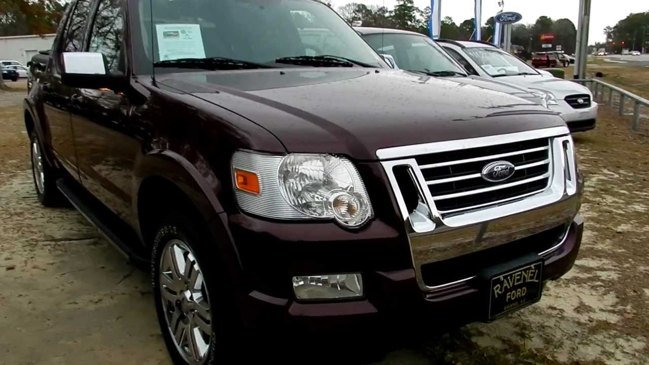 2008 ford explorer sport trac review limited for sale ravenel ford charleston