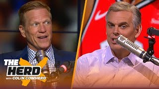 D'Angelo Russell to GS 'smells like desperation,' talks Kawhi & Lakers - Ric Bucher | NBA | THE HERD