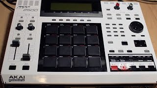 Akai MPC 2500 How to Replace Pad Sensor / Drum Pad / Faceplate / Casing