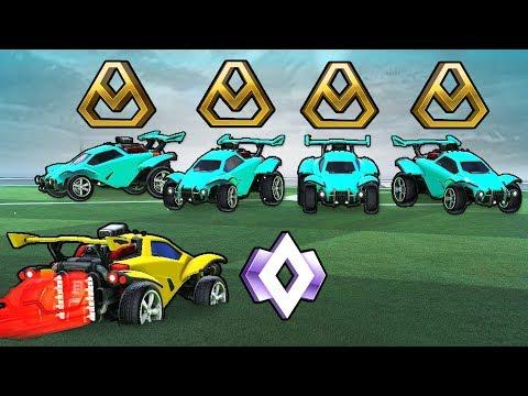 4 Golds Vs 1 Champion (The Ultimate Rank Tournament)