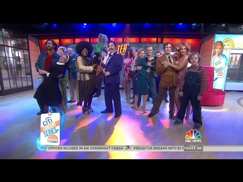 Cast of 'Disaster!' sing medley of '70s hits - Today Show