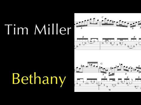 Tim Miller   Bethany Guitar Solo Janek Gwizdala
