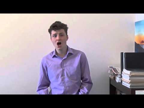 Gavin Lambert Clarke Singing Bist du Bei Mir