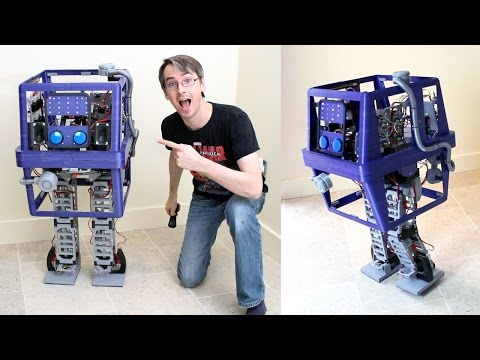 XRobots - Star Wars Robot GONK Power Droid PART 11, More Walking & Next Steps