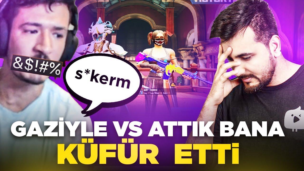 Download GAZİYLE VS ATTIK BANA KÜFÜR ETTİ / PUBG MOBILE