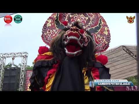 Solah Trengginas Singo Barong Bhayangkara | SAMBOYO PUTRO Live BDI Kediri 2018