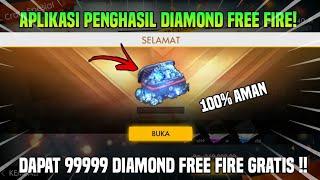 APLIKASI PENGHASIL DIAMOND FREE FIRE GRATIS !