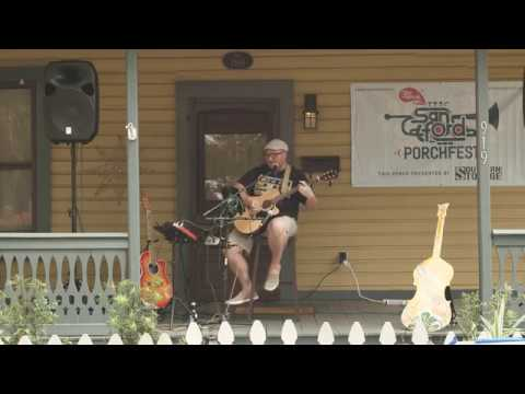 """Brent Terwilliger Performing """"Song for Mary"""" (original) at Sanford's 3rd Annual Porchfest"""