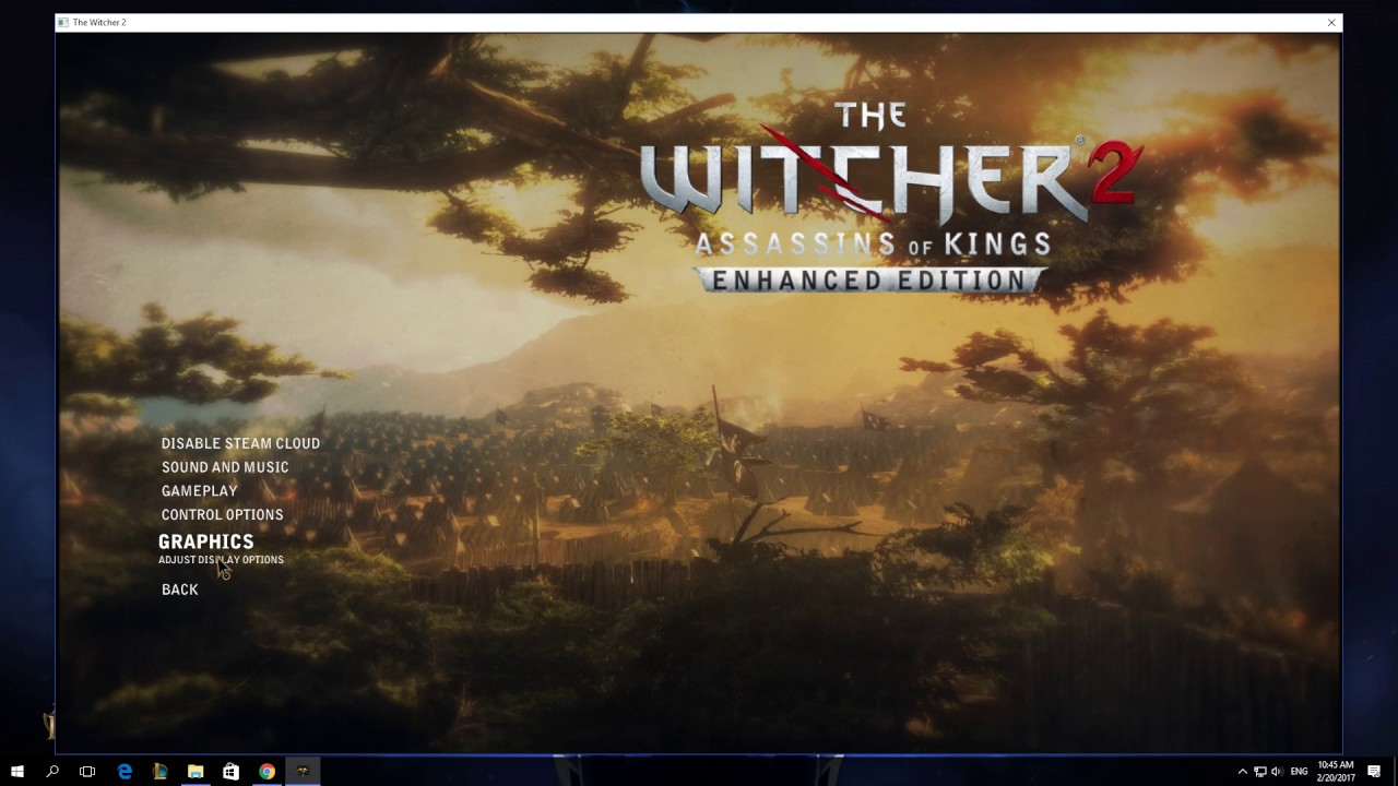 How To Change Brightness And Gamma In The Witcher 2