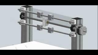 Building my hobby CNC animation
