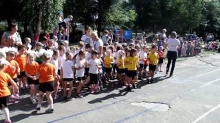 Чемпионат по легкой атлетике в детском саду