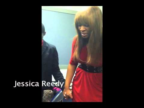 Jessica Reedy - Backstage Prayer Circle in New Orleans