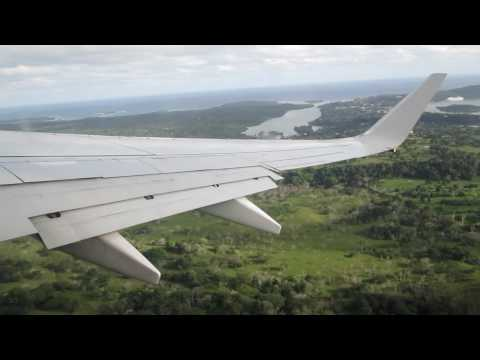 Leaving Port Vila international Airport