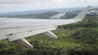 Leaving Port Vila international Airport