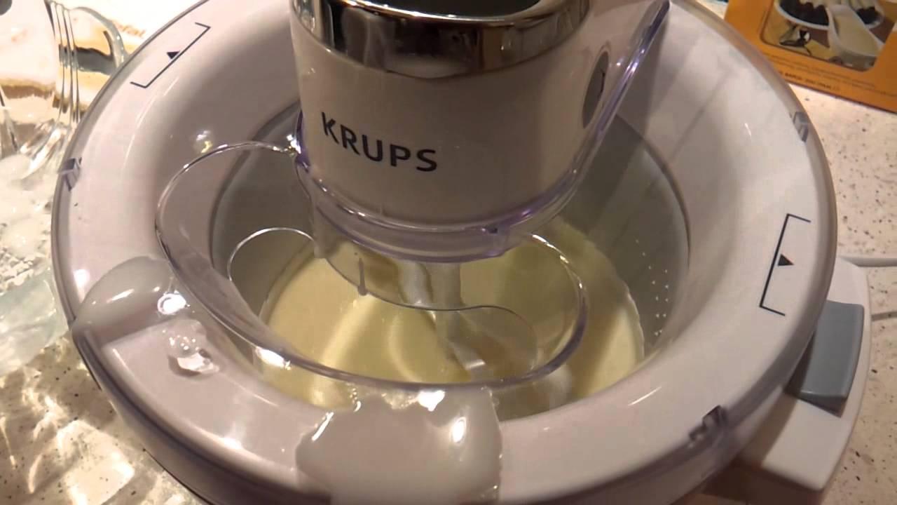 Kendte Krups GVS1 Ice Cream Maker - YouTube YL-84