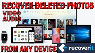 Recoverit Photo Recovery | Recover Deleted Photo For Free