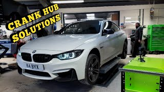 Installing the Crank Hub Capture Plate to my Stage 1 BMW M4!