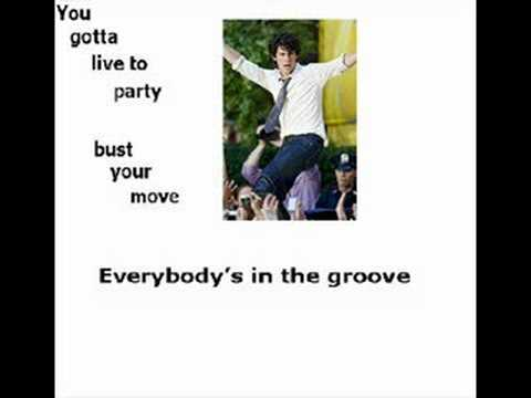 Live To Party- Jonas Brothers with on screen lyrics