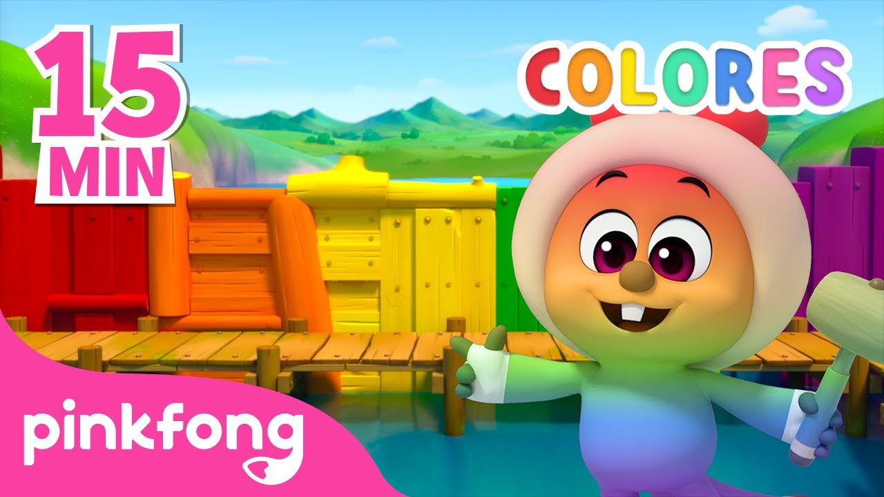 Aprende Colores con Jojo | 15Min | Colores | Pinkfong @Hogi! Pinkfong - Learn & Play