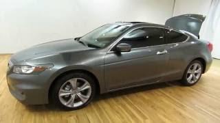 2012 Honda Accord Cpe EX-L LEATHER MOONROOF V6 @CARVISION.COM