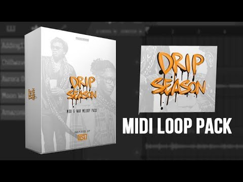 DRIP SEASON 💧MIDI Loop Kit | Gunna Inspired Trap Sample Pack (21 Melody Loops)