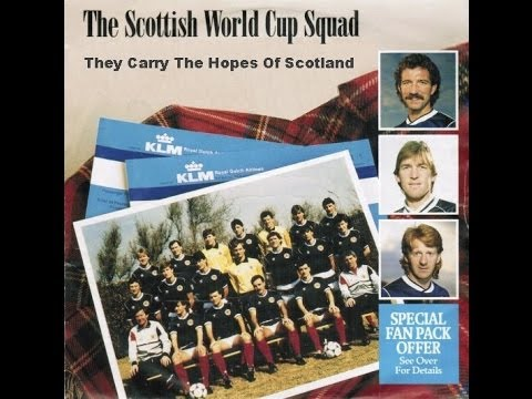 They Carry The Hopes Of Scotland SCOTTISH WORLD CUP SQUAD 1986
