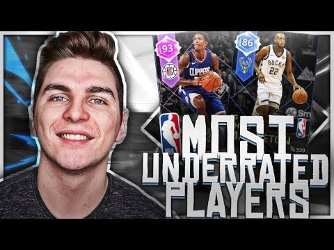 MOST UNDERRATED PLAYERS TEAM! NBA 2K18 SQUAD BUILDER