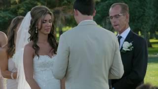 Tricia & Connor: Del Rio Country Club Wedding Video - Modesto CA