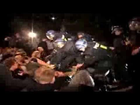 Copenhagen: Unarmed Protesters Beaten By Police