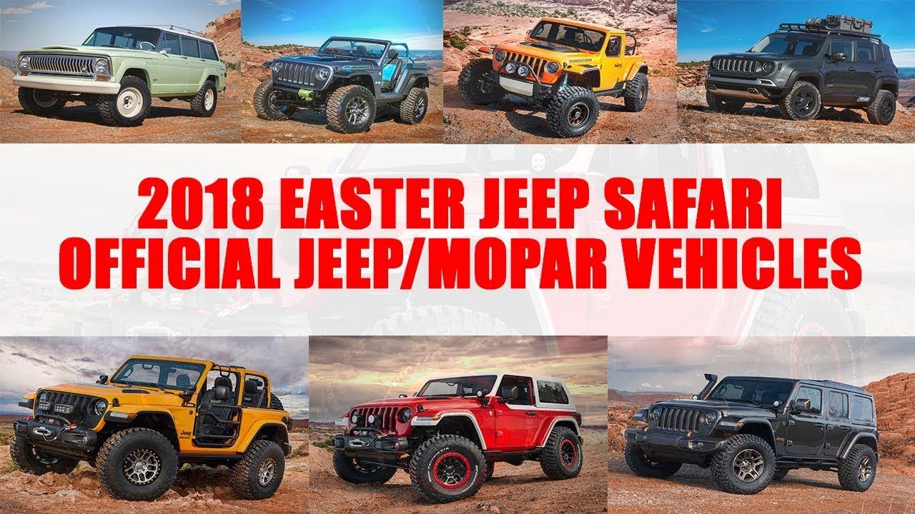 New Easter Jeep Safari Teaser Images Revealed Pickup Truck